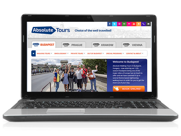 Absolute Tours Website