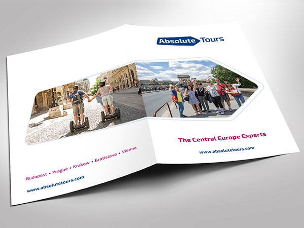 Absolute Tours Marketing Materials