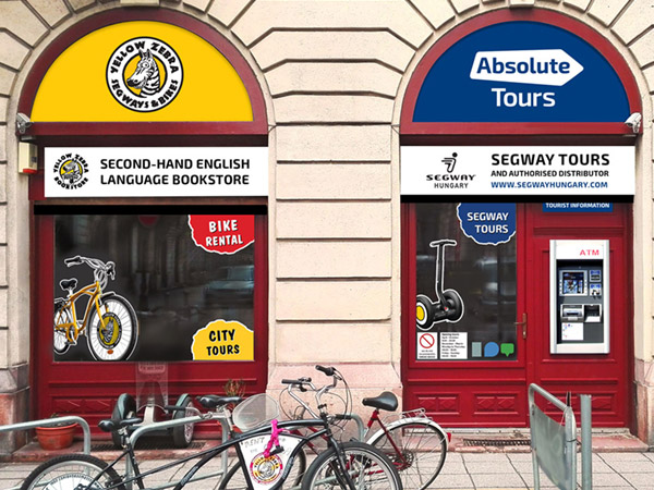 Absolute Tours Store Front Design