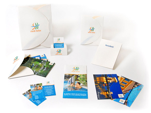 Sterk Helse Marketing Materials Design